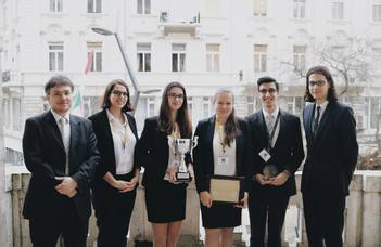 ELTE defended its title as champion of SEE at Monroe E. Price Media Law Moot Court