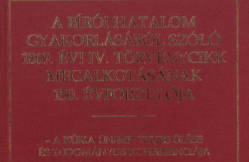 Könyvbemutató a Kúrián