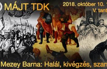 MÁJT TDK 2018. október 10.