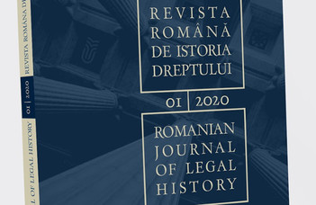Romanian Journal of Legal History
