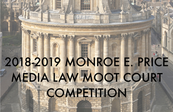 Monroe E. Price Media Law Moot Court Competition