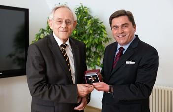 Wolfgang Sellert kitüntetése