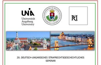 20. német-magyar büntetőjog-történeti csereszeminárium