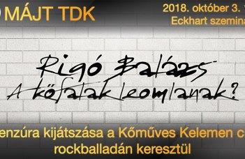 MÁJT TDK 2018. október 3.