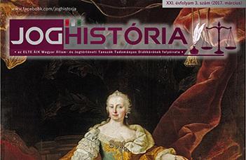 Joghistória –2017. március