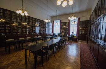 Tanszéki könyvtár