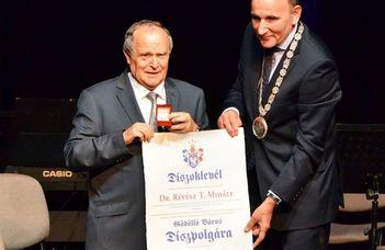 Révész Tamás Gödöllő város díszpolgára
