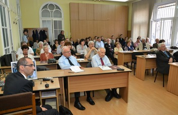 Tudományos emlékkonferencia Kolozsvárott