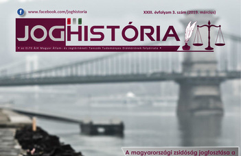 Joghistória – 2019. március